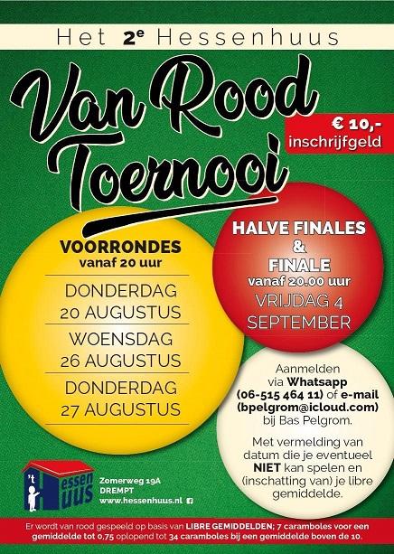 2e Van Rood Toernooi
